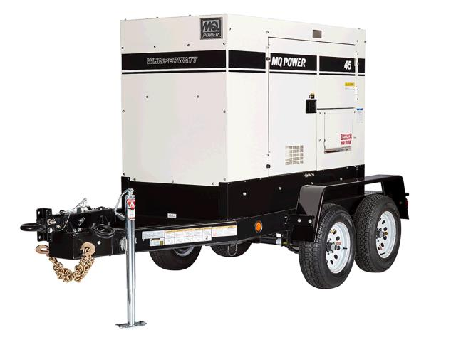 Where to find GENERATOR, 45KW  TOWABLE in Mishawaka