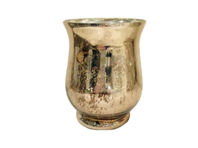 Gold Mercury Hurricane Vase Large Rentals Mishawaka In Where To