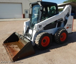 Rental store for BOBCAT, TIRE S530 49HP CAB W  AC   HEAT in Mishawaka IN